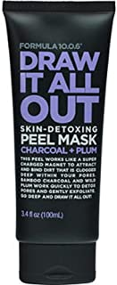 FORMULA 10.O.Six Draw It All Out Skin-Detoxing Charcoal + Plum Peel Mask 3.4 fl oz