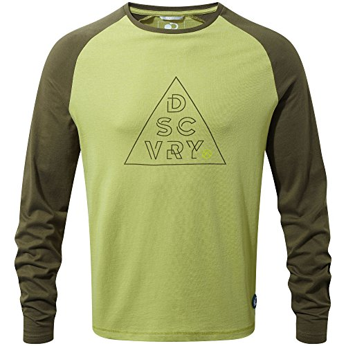 Craghoppers DA Long Sleeved T-Shirt Homme, Spiced Lime, XX-Large