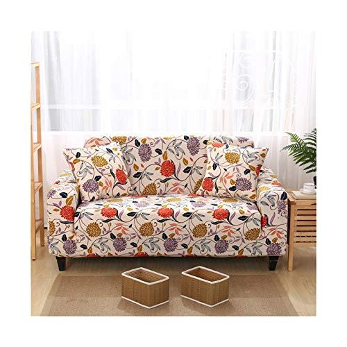 ADosdnn Cubierta de sofá para Sala de Estar Elastic Funda Sofá Sofá Couch Tapa de Punto Sillón Sillón Subger Muebles de Estiramiento Protegido Tapa de sofá Estiramiento