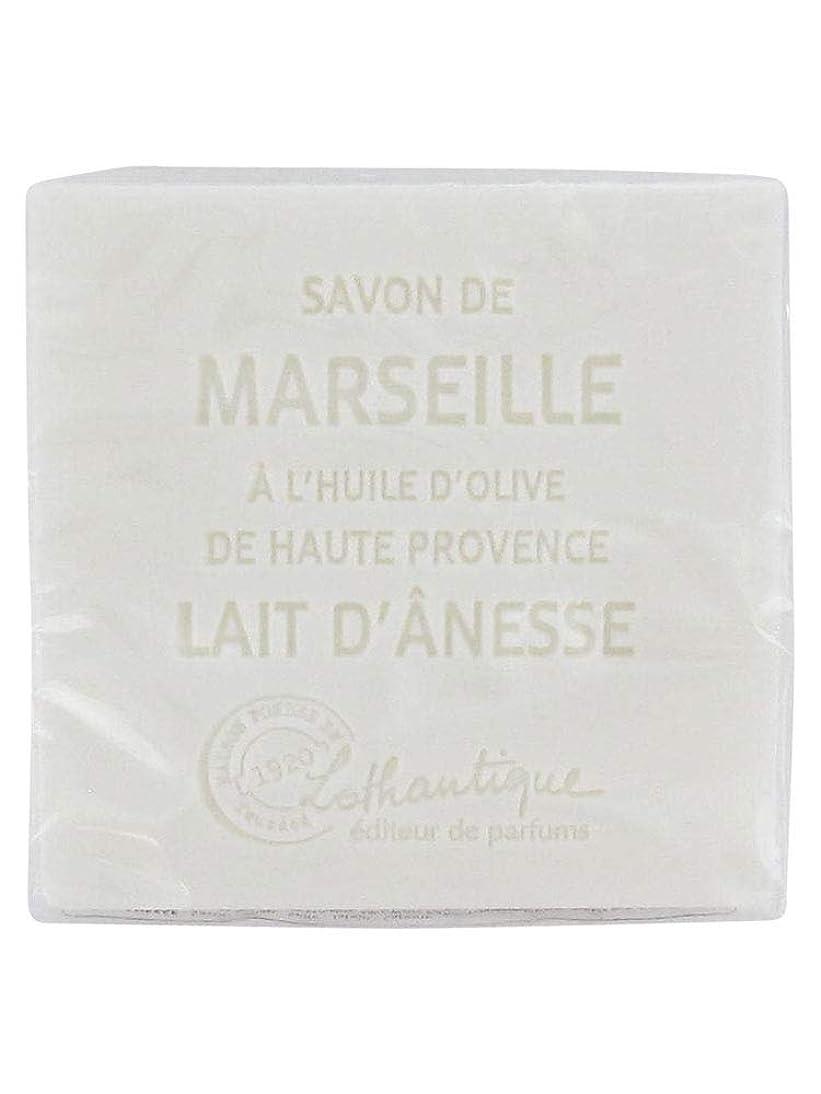 脈拍倒錯対応Lothantique(ロタンティック) Les savons de Marseille(マルセイユソープ) マルセイユソープ 100g 「ミルク(ロバミルク)」 3420070038043