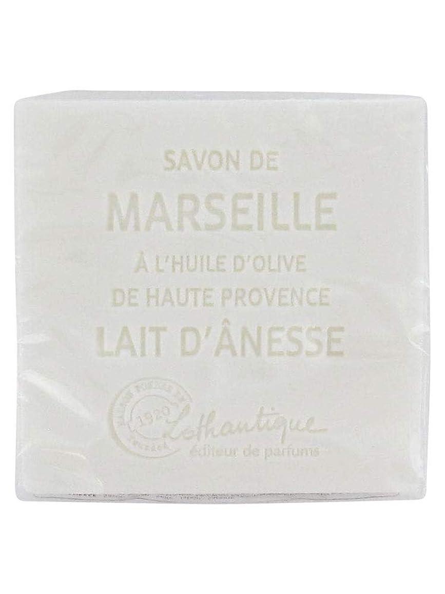 ブレーククラック連続的Lothantique(ロタンティック) Les savons de Marseille(マルセイユソープ) マルセイユソープ 100g 「ミルク(ロバミルク)」 3420070038043