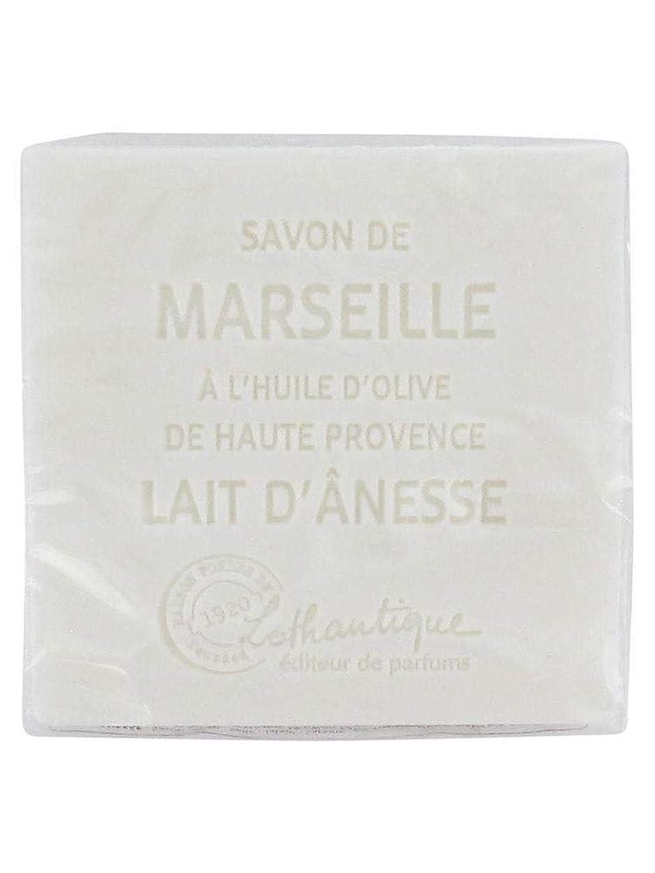 予防接種アナロジー暴力的なLothantique(ロタンティック) Les savons de Marseille(マルセイユソープ) マルセイユソープ 100g 「ミルク(ロバミルク)」 3420070038043