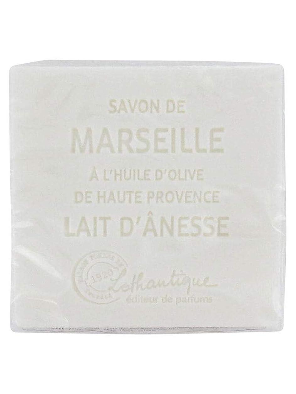 旅カート回想Lothantique(ロタンティック) Les savons de Marseille(マルセイユソープ) マルセイユソープ 100g 「ミルク(ロバミルク)」 3420070038043