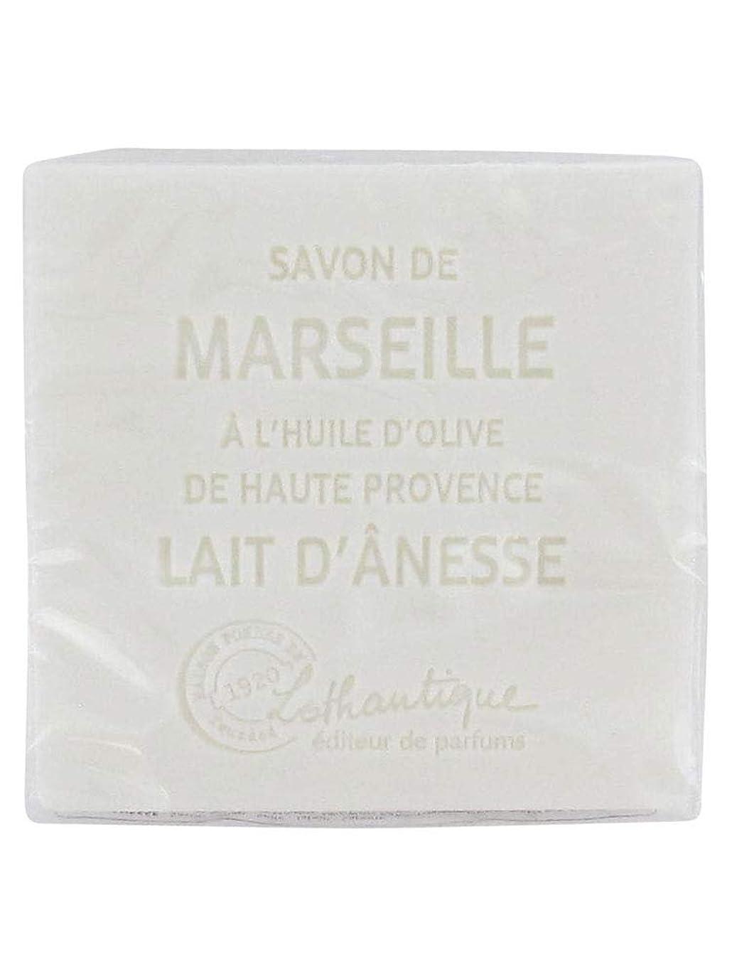 一過性カフェ再集計Lothantique(ロタンティック) Les savons de Marseille(マルセイユソープ) マルセイユソープ 100g 「ミルク(ロバミルク)」 3420070038043