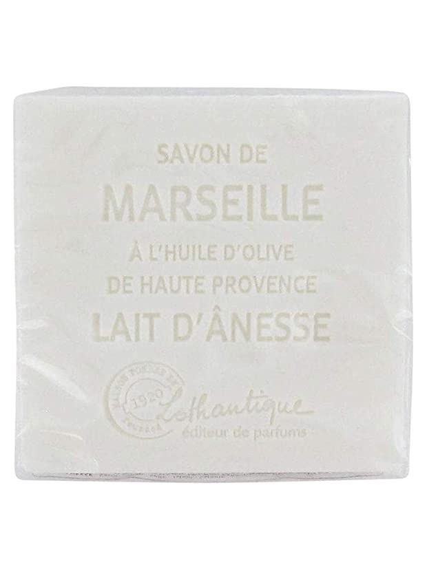 気を散らす弱いシチリアLothantique(ロタンティック) Les savons de Marseille(マルセイユソープ) マルセイユソープ 100g 「ミルク(ロバミルク)」 3420070038043