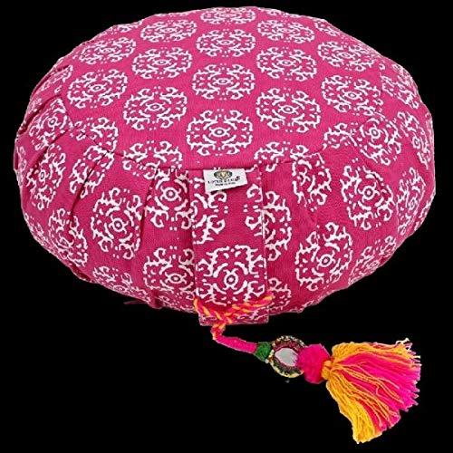 Lotus Design - Cuscino da meditazione RAJA, colore: Rosa