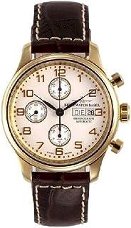 Zeno - Watch Reloj Mujer - NC Retro Cronógrafo DD Gold Plated - 9557TVDD-Pgr-f2