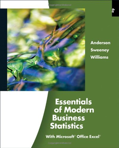 Essentials of Modern Business Statistics (with Online...