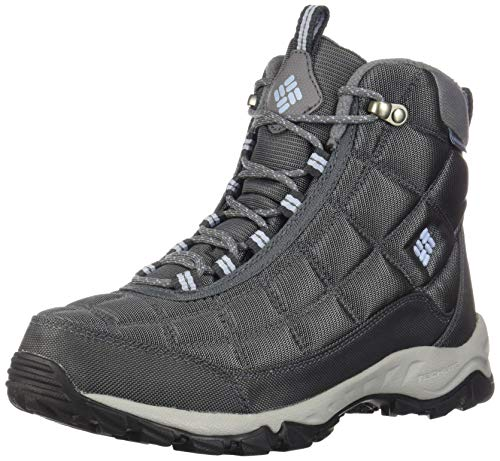 Columbia Women's Firecamp Boot Hiking, Graphite, Faded Sky, 5.5 Regular US