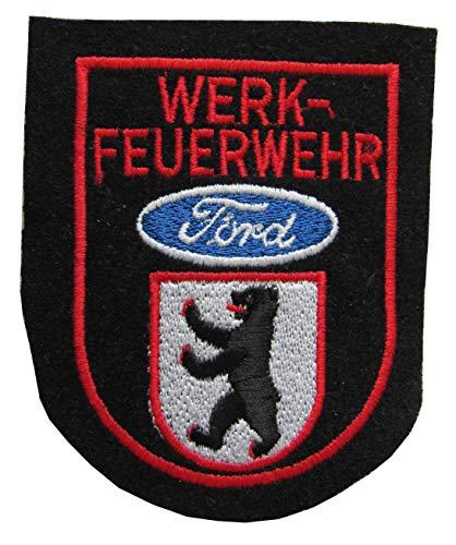 Werkfeuerwehr - Ford Berlin - Ärmelabzeichen - Abzeichen - Aufnäher - Patch - Motiv 1