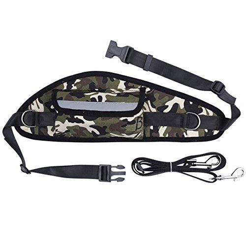 Chien animal marche courir le jogging chien de tête sac de traction Camouflage