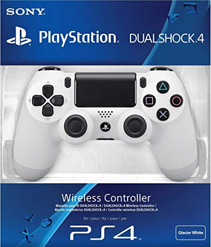 Sony PS4 Dualshock 4 Wireless Controller -- Glacier White (World Edition, Model# CUH-ZCT2E) *Box image is different