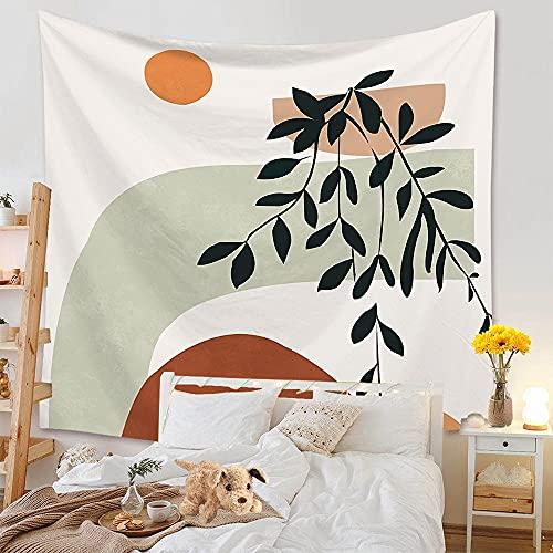 Tapiz nórdico arcoíris sol y luna elefante tapiz montado en la pared tapiz de playa tapiz de tela de fondo A1 150x200cm