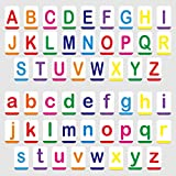 """Hebayy Magnetic Alphabet ABC Flash Cards with Large Uppercase and Lowercase Letters 5.5"""" x 3.5"""" (52 PCs)"""
