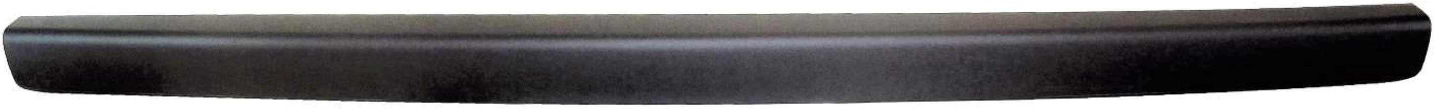 PT Auto Warehouse GM-5523A-TG2 - Tailgate Molding, Black - Upper, Non-Spoiler Style, for Fleetside ONLY
