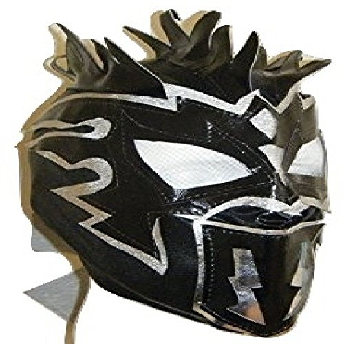 WRESTLING MASKS UK Kalisto - Deluxe Childrens The Lucha Dragons Zip Up Mask