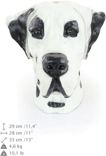 Great Dane, Deutsche Dogge, Farbe, Hund, Resin, Harz, Kopf, Limiterte Edition, Art Dog