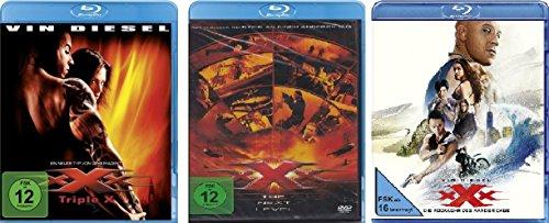 xXx - Triple X (1+2 The Next Level + 3 Die Rückkehr des Xander Cage) im Set - Deutsche Originalware [3 Blu-rays]