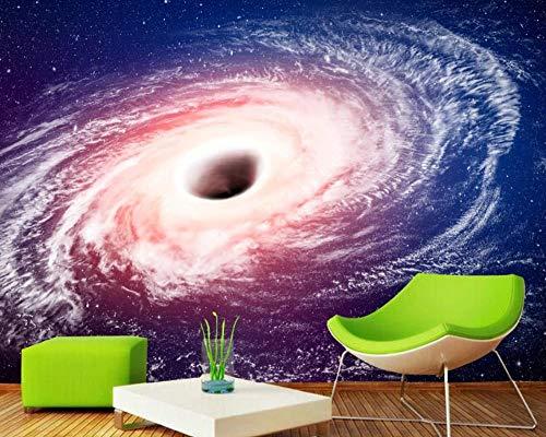 Fototapete 3d Effekt Milchstraße Schwarzes Loch Universum Sternenhimmel Fototapete schlafzimmer Tapete Vliestapeten Wohnzimmer Wandbilder Wallpaper Wanddeko 430x300cm