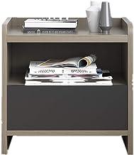 Bedside Table Storage Wood Nightstand Fashion Storage Cabinets Bedroom Furniture Bedside Cabinets for Bedroom/Living Room/...