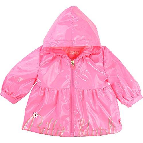 Billieblush Regenmantel Lack rosa mit silberGr 3 J / 92-98
