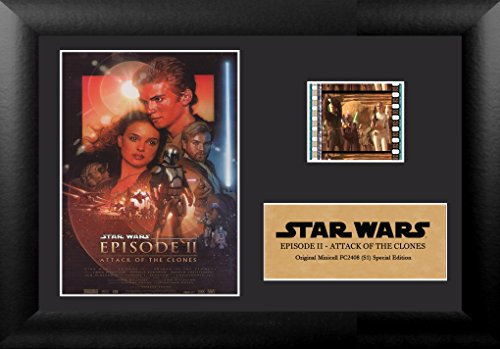 Price comparison product image Star Wars Episode II Attack of the Clones Authentic 35mm Film Cells Special Edition Display