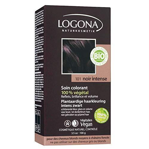 Logona Haarkleuring 101 Intens Zwart, 100 g