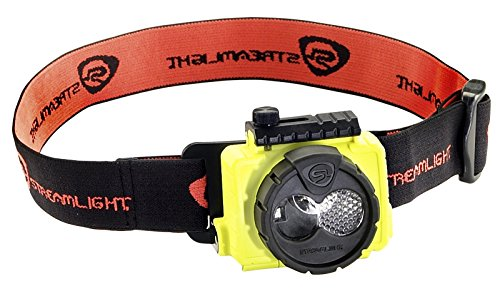 Streamlight 61600 Double Clutch USB Headlamp, Yellow, one Size