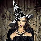 AISFGBJ Westworld - Gorro de Bruja para Halloween, Unisex, para Vacaciones, Halloween, Navidad, carnavales