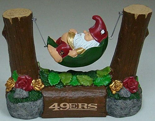 Forever Collectibles NFL San Francisco 49ers Garden Gnome, One Size, Team Color