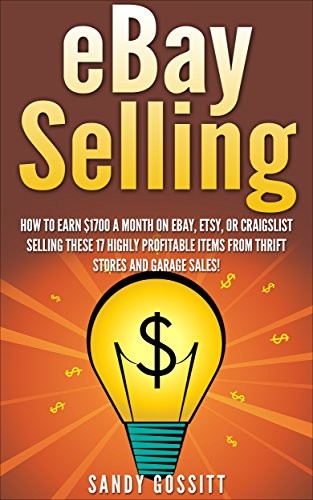Selling on Ebay: 17 Highly profitable Items to Sell on eBay From Thrift Stores, Garage Sales,