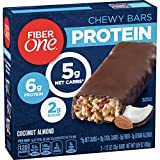 Fiber One Protein Chewy Bars, Coconut Almond, 5 ct.