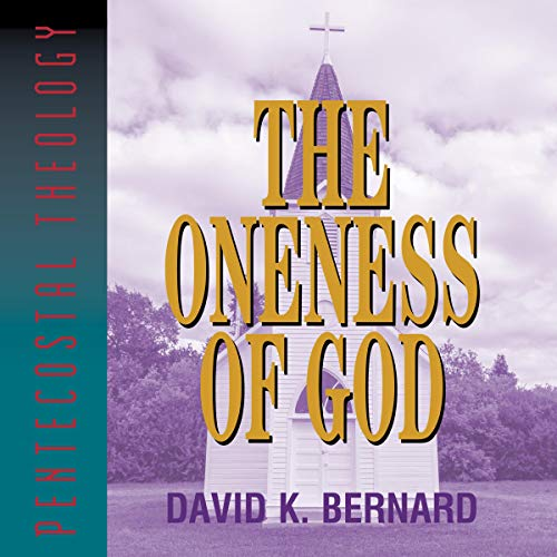 The Oneness of God  By  cover art