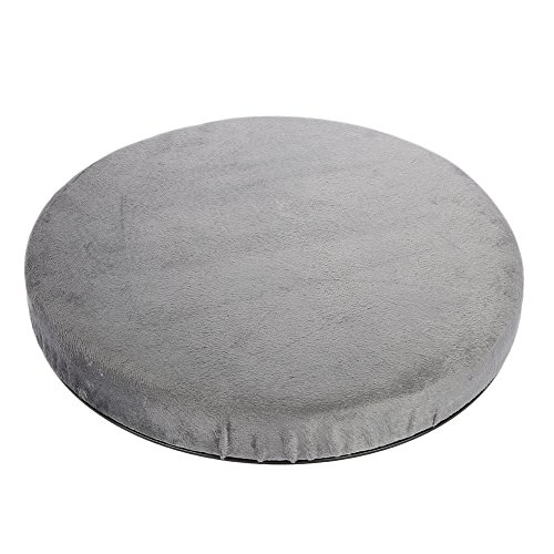 Josopa Car Swivel Seat Cushion, Comfort Skidproof Chair Pad Office Home 360 Degree Rotation for Turns Change in Direction Transferring Between Seats
