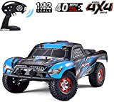 XSLY Rc Cars for Adults Truck Powered Drift Trucks Remote Control Nitro Car Fast 4x4 Monster Toys-1:12 Scale Upgraded Brushless RC Truck, 4WD 40 MPH High Speed Off-Road RC Truck