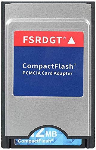 Guanigyuweye CompactFlash Memory Card CF to PCMCIA PC Adapter