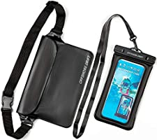 Offshore Drift 2PC Waterproof Phone Pouch Case and Waist Dry Bag