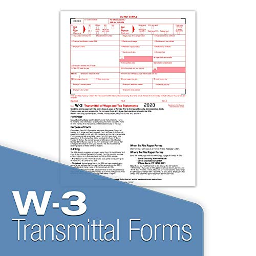 W2 Tax Forms 2020 - Tangible Values 4-Part, 25 Pack Laser Tax Form Kit with Envelopes - Includes TFP Software Photo #5