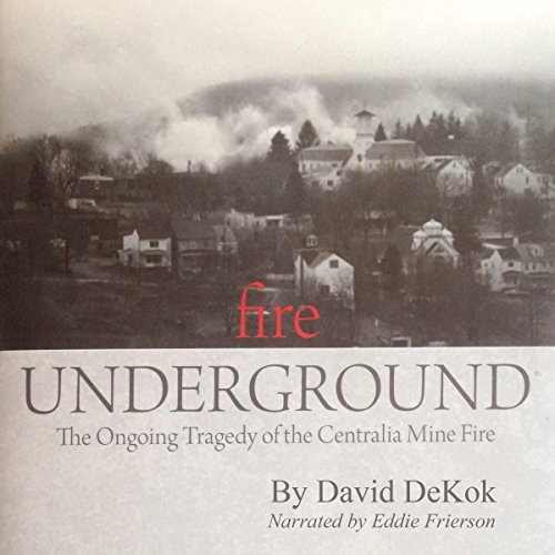 Fire Underground audiobook cover art