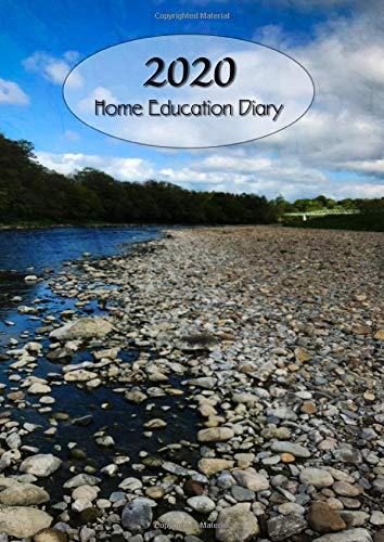 2020 Home Education Diary: An A4 large size week to view planner using a dot grid bullet point interior for optimised individualisation and creativity