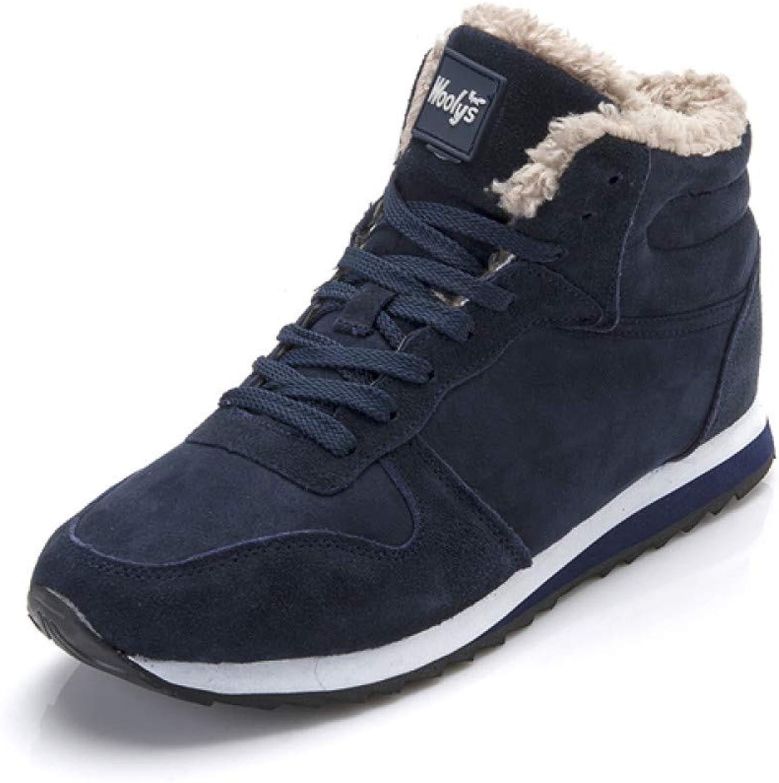 59a0158a86c512 ... FHCGMX Herren Stiefel Schnee Winter Winter Winter Schuhe Für Männer  Lace-Up Stil Mode Turnschuhe
