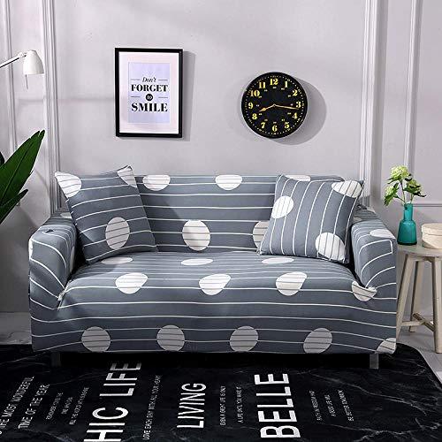 Allenger Forro de Sofá Doméstico,Funda de sofá elástica, Funda Antideslizante para sofá Todo Incluido, Protector de sofá para Sala de Estar y cafetería-D8_235-300cm