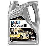 Mobil (112825-4PK) Delvac 1 ESP 5W-40 Motor Oil - 1 Gallon, (Pack of 4)
