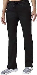 Jaanuu Women's Scrubs Straight Leg Pants W/Four Pockets | Regular Inseam | Women's Fashion Medical Workwear Clothing