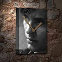 Tobey Maguire - Canvas Clock (Large A3 - Signed by The Artist) #js001
