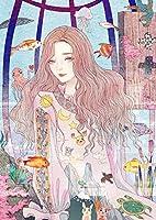 QGHMV大人と子供のためのDiy5Dダイヤモンド絵画キット海洋生物と少女フルドリルCラウンド刺繡クロスステッチキットアートクラフト家の壁の装飾ユニークなギフト40X50cm(GQ90)