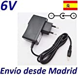 Cargador Corriente 6V Reemplazo Vigilabebes Tigex Freedom Plus Recambio Replacement