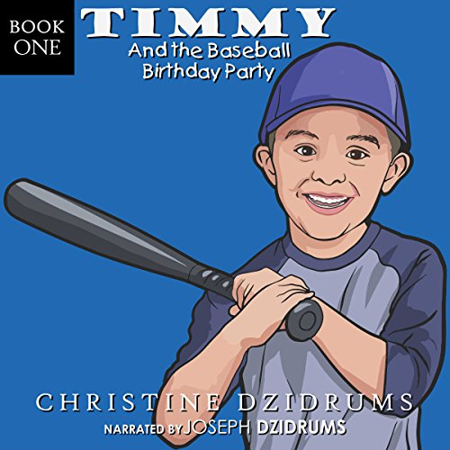 Timmy and the Baseball Birthday Party audiobook cover art