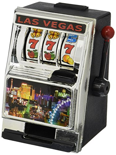 Forum Novelties 59371 Slot Machine Bank with Coins