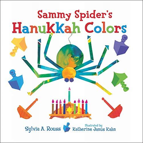 Sammy Spider's Hanukkah Colors cover art